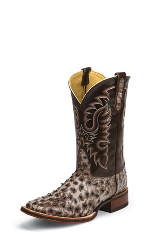 Dark Brown Nocona Boots McCloud Tobacco Full Quill