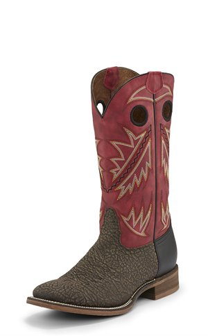 Ruby Red Nocona Boots Go Round