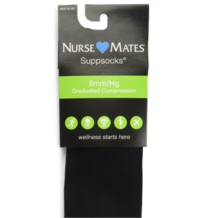 Black Nurse Mates Compression Trouser