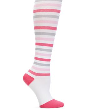 402ed97cd1 Nurse Mates Compression Trouser in Pink Grey Strip - Nurse Mates ...