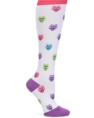 Multi Owls Nurse Mates Compression Trouser