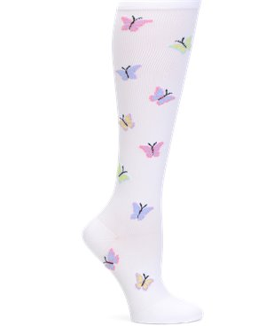 Butterfly Nurse Mates Compression Socks