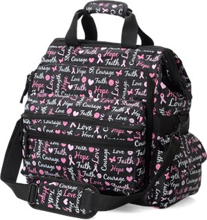 Hope for the Cure Nurse Mates Ultimate Nursing Bag