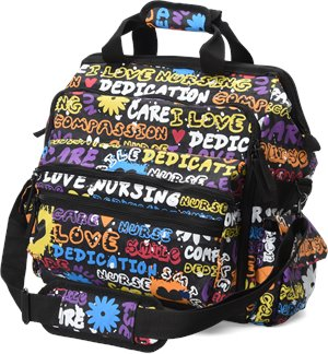 Pop Art Nurse Mates Ultimate Nursing Bag