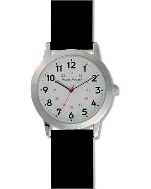 Black Nurse Mates Basic Watch