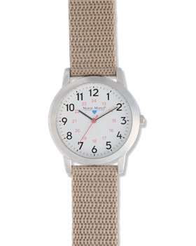 Tan Nurse Mates Basic Watch