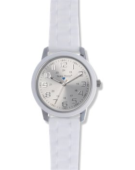 White Nurse Mates Favorite  Ring Dial Watch