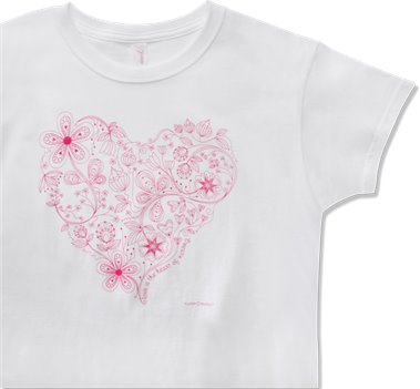 White Nurse Mates Heart of Nursing Tee Shirt
