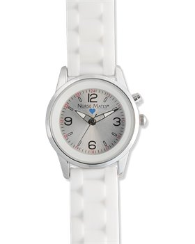 White Nurse Mates Night Light Watch