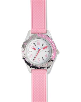 Pink Nurse Mates Diver Style Watch