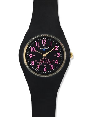 Black Nurse Mates Uni Watch Pink