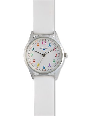 White Nurse Mates Awareness Watch