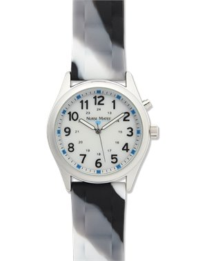 Black White Gray Nurse Mates Light Up Watch - Abstract
