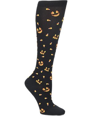 Jack  O Lantern Nurse Mates Compression Socks