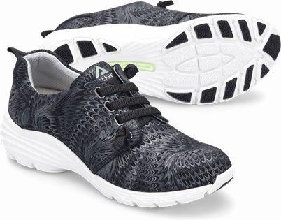Align™ Velocity shoes shown in Black Swirl