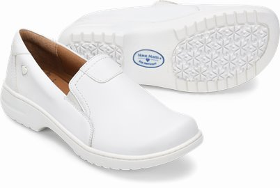 Meredith shoes shown in White