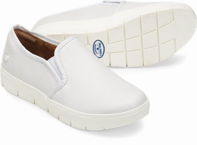 Adela shoes shown in White