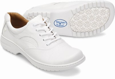 Macie shoes shown in White