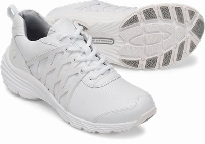 Align™ Brin shoes shown in white