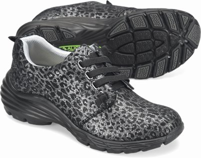 Align™ Velocity shoes shown in Midnight Leopard