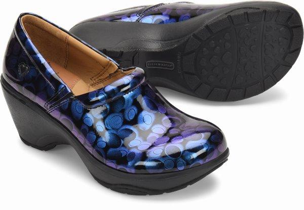 Bryar shoes shown in Blue Spectrum