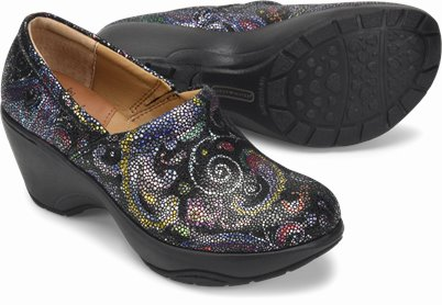 Bryar shoes shown in Mosaic Paisley