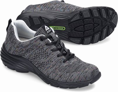 Align™ Tabor shoes shown in Grey Metallic Woven