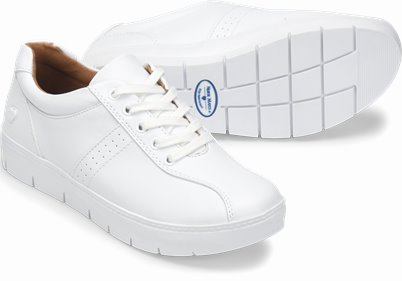 Andover shoes shown in white