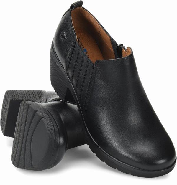 Edda shoes shown in black