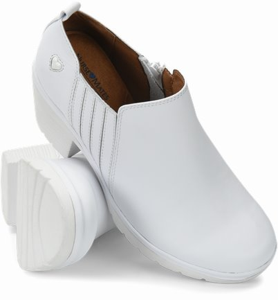 Edda shoes shown in white