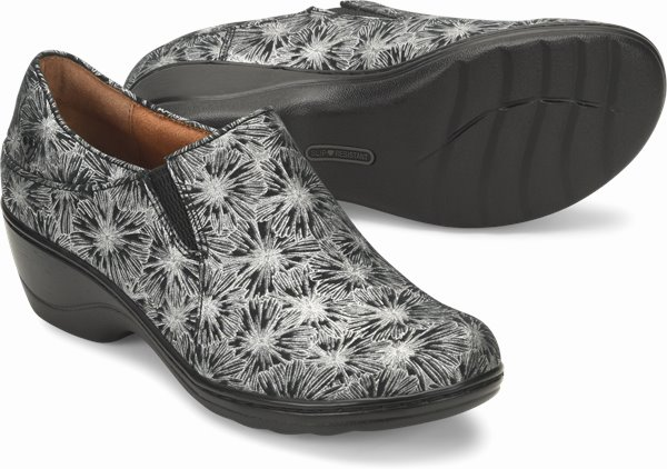 Kate shoes shown in Silver Daisy