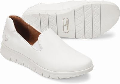 Sandy shoes shown in White
