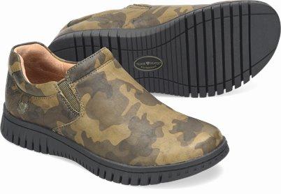 Darla shoes shown in Camo