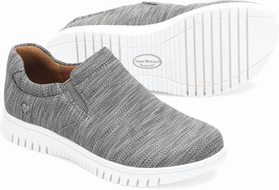 Darla shoes shown in Charcoal Grey