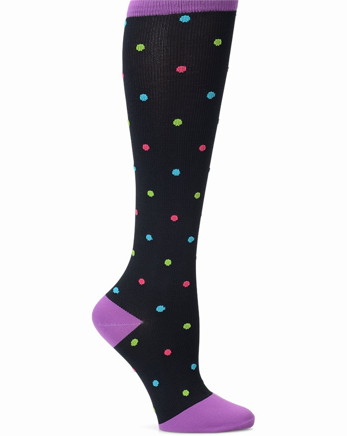 Compression Socks accessories shown in Bright Dots