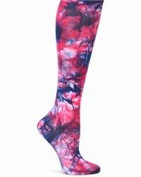 Compression Socks accessories shown in Raspberry Tie-Dye