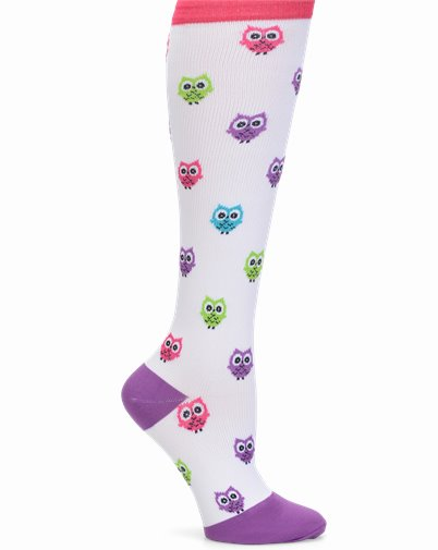 Compression Socks accessories shown in Owls