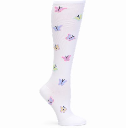Wide Calf Compression accessories shown in Butterfly