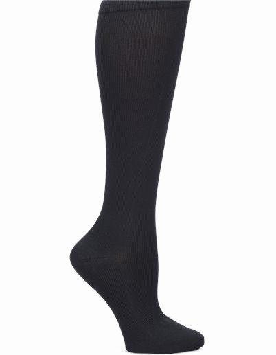 Wide Calf Compression accessories shown in Black