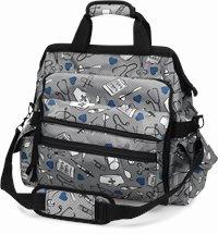 Ultimate Nursing Bag accessories shown in Medical Symbols
