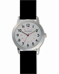 Unisex Watch accessories shown in Black Strap