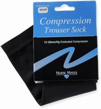 Medical Compression Socks accessories shown in Black