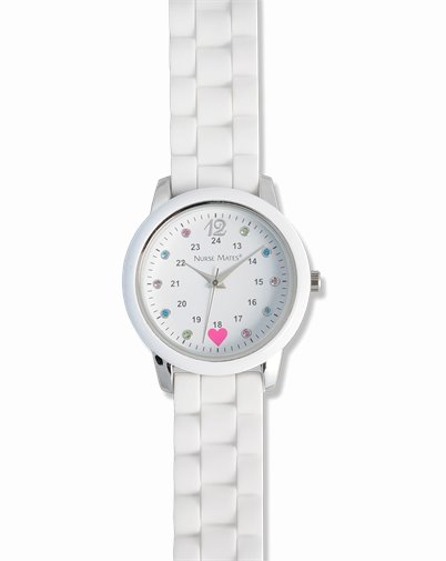 Sparkle Dot Watch accessories shown in White