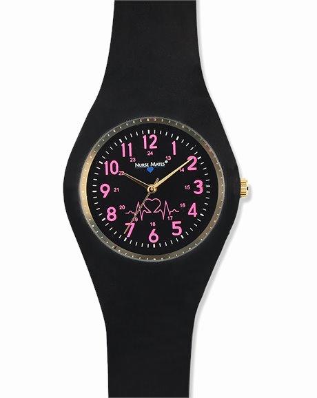 Uni-Watch shown in Black Strap