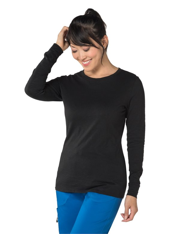 Willow Top apparel shown in Black
