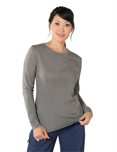 Willow Top apparel shown in Smoke