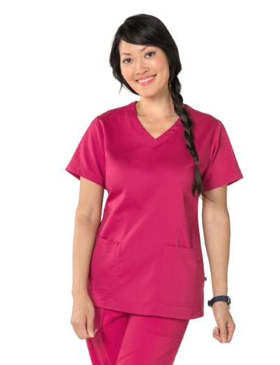 Nursemates Maci Top - RASPBERRY