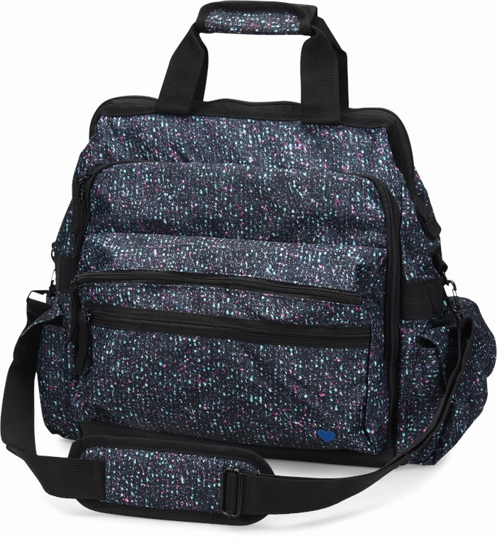 Ultimate Nursing Bag accessories shown in Galaxy