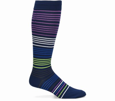 Mens Compression ProductType(shoes) shown in Navy Stripe