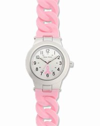 Link Watch accessories shown in Pink Ribbon